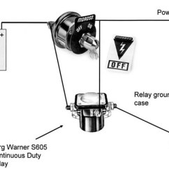 Battery Relocation Wiring Diagram Cell Labeled Animal Trunk Mount Kill Switch | For A Bodies Only Mopar Forum