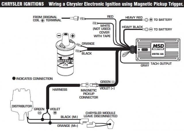 mopar electronic ignition conversion wiring diagram two way lighting switch hei wire change your idea with starter schematic symbols