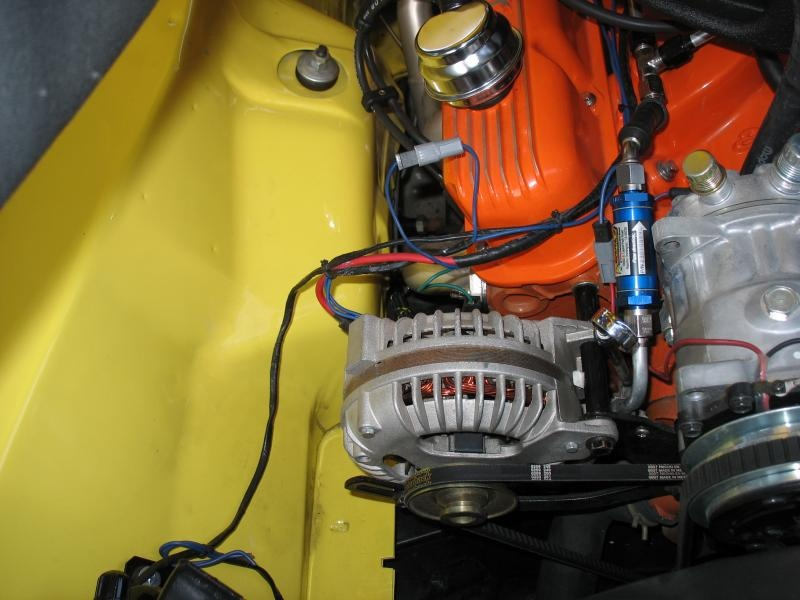 72 Ford Alternator Wiring Denso Alternator Installation For A Bodies Only Mopar Forum