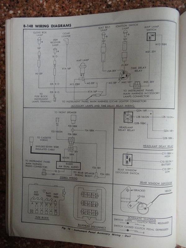 2007 Dodge Caravan Wiring Diagram 1971 Dodge Dart Wiring Diagram Dodge