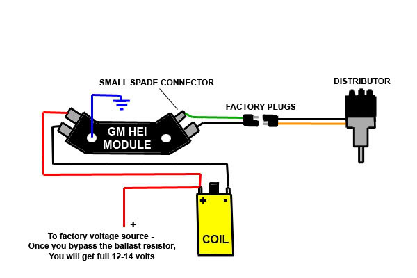 Distributor Wiring Diagram Along With Chevy Hei Distributor Wiring