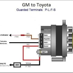 Delco Cs Alternator Wiring Diagram Fan Switch Gm | For A Bodies Only Mopar Forum