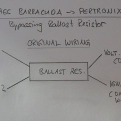 How To Wire A Ballast Resistor Diagram Wiring For Mains Powered Smoke Alarms Bypassing Installing Pertronix Ignition