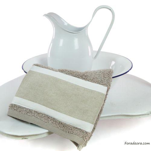 asciugamano tortora