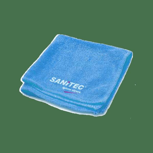 panno microfibra azzurro