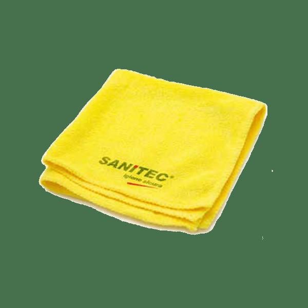 panno microfibra giallo