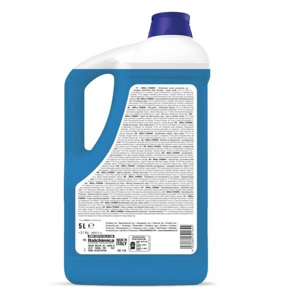 brillantante per lavastoviglie industriali liquido in tanica da 5 lt codice 1130