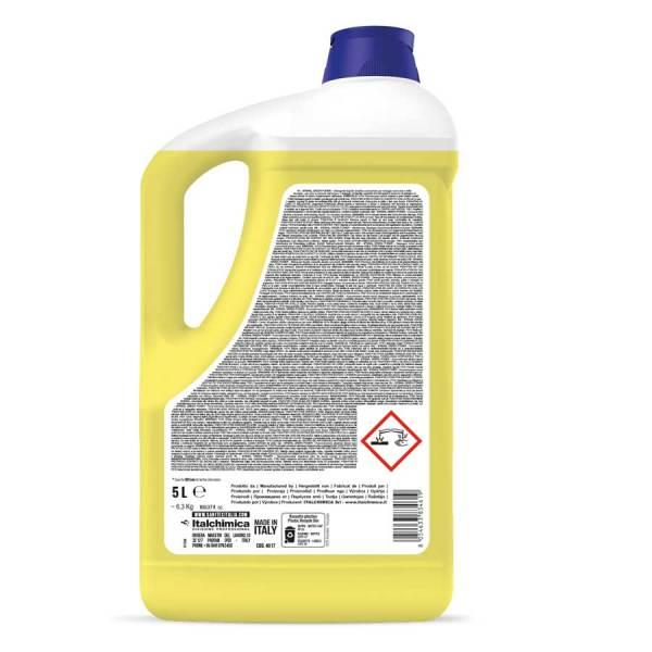 sanitec- avastoviglie ecologico professionale e industriale liquido in tanica da 5 lt stovil green power codice 4017