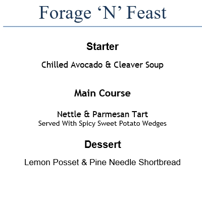 Forage n Feed - Menu 2