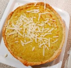 Nettle & Parmesan Tart