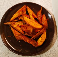Sweet Potato Wedges - Menu 2