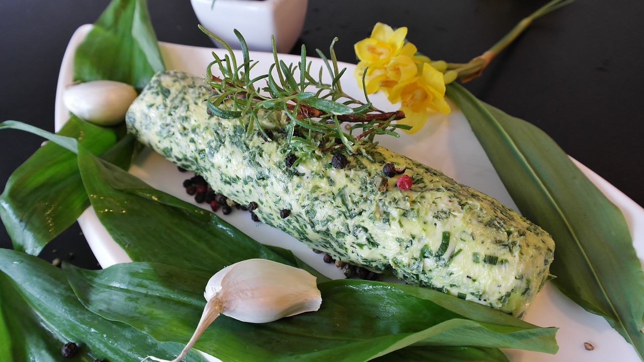 Wild Garlic Butter Recipe