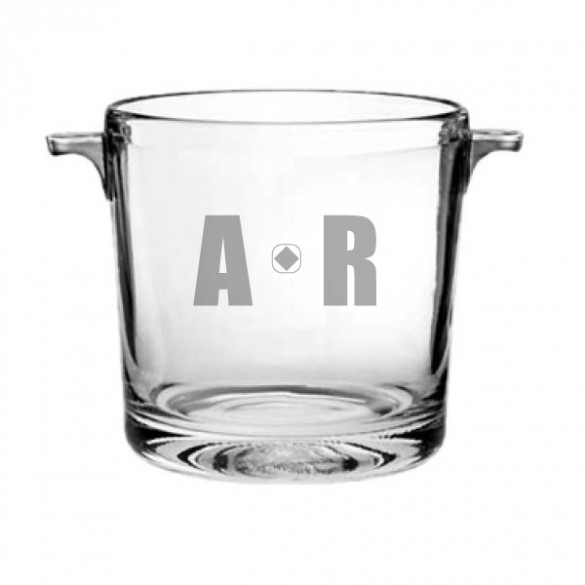 monogram ice bucket