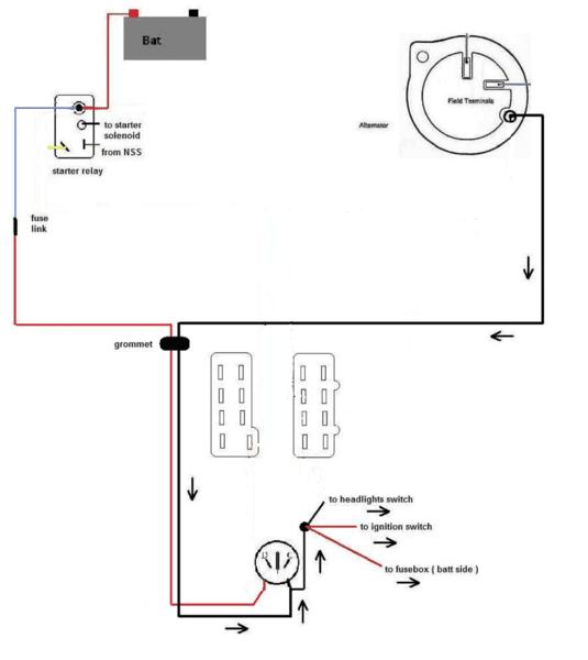 Mopar Ammeter Wiring ammeter gauge wiring diagram how to