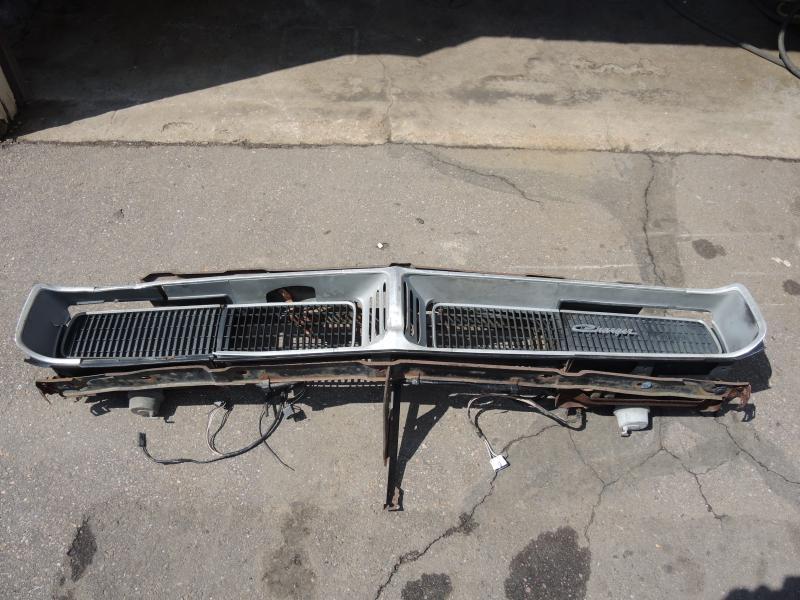 1969 Dodge Charger Headlight Vacuum Diagram