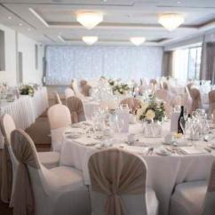 Custom Banquet Chair Covers White Task Chairs Without Arms Stretch Wedding Uk Hotel Supplier Forbes Group