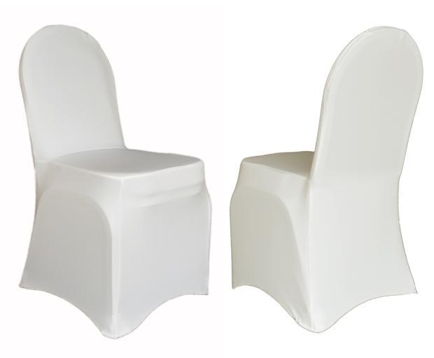cheap white chair covers pottery barn aaron conference in stretch polyester uk hotel supplier