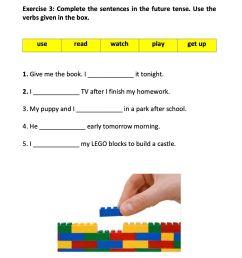 Grade 3 English: Future Tense - Grade 3 - FORBEST ACADEMY [ 1650 x 1275 Pixel ]