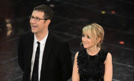 Fabio Fazio e Luciana Littizzetto   © Daniele Venturelli / Getty Images