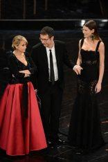Luciana Littizzetto, Fabio Fazio e Bianca Balti   © Daniele Venturelli / Getty Images