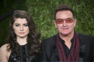 Bono Vox e la figlia | © ADRIAN SANCHEZ-GONZALEZ / Getty Images