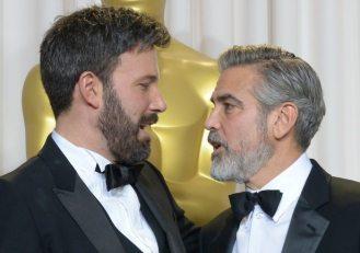 Ben Affleck e George Clooney | © Joe Klamar / GEtty Images