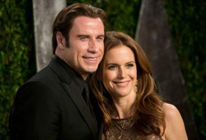 John Travolta e Kelly Preston | © ADRIAN SANCHEZ-GONZALEZ / Getty Images