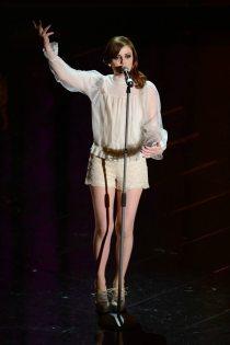 L'esibizione di Annalisa Scarrone   © Daniele Venturelli / Getty Images