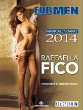 Il calendario 2014 di Raffaella Fico | © For Men