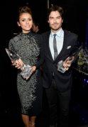 Nina Dobrev e Ian Somerhalder | © Getty Images
