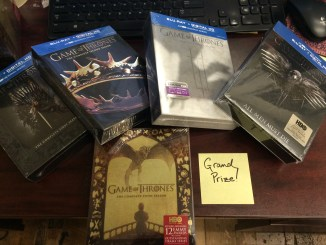 Forbidden Planet contest free giveaway Game of Thrones Blu-Ray DVD