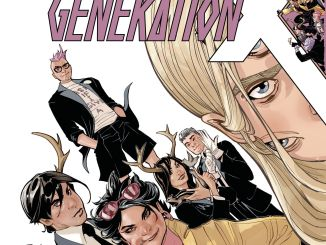 Terry Dodson Generation X cover 2017