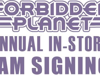 Comic-Con Forbidden Planet signing 2017