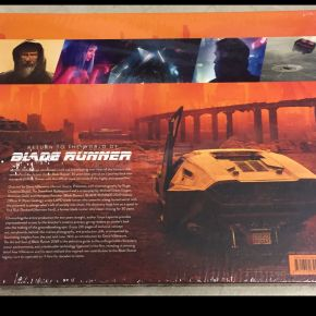 Back Cover Art Soul of Blade Runner hardcover Harrison Ford