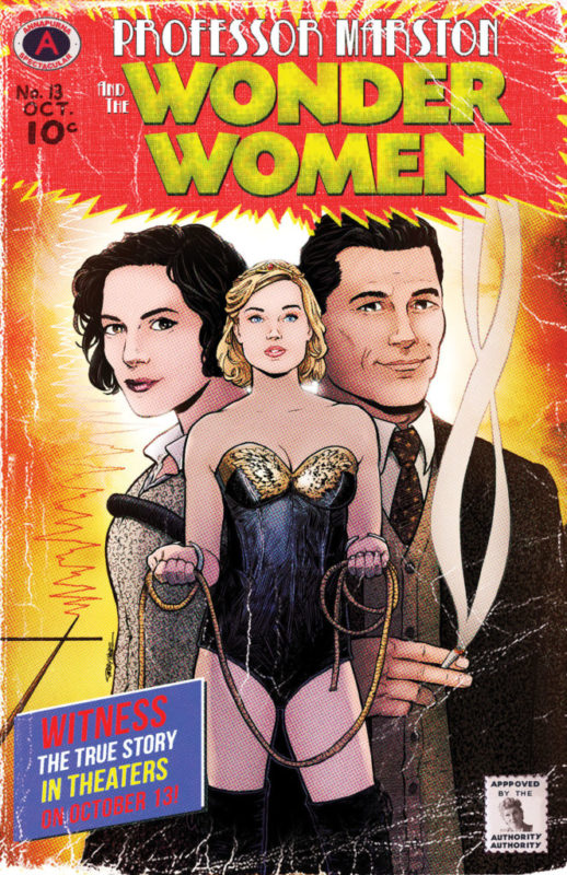 Terry Moore Professor Marston Comic cover signing event Forbidden Planet NYC