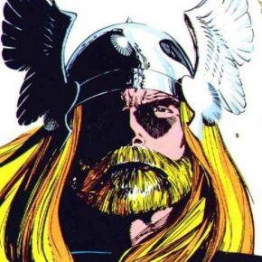 Walt Simonson THor Beard Headshot Marvel Comics