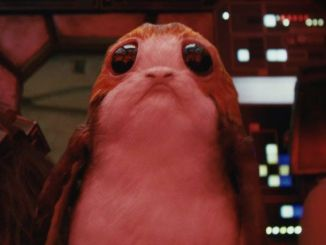 Star Wars the Last Jedi Millennium Falcon Porg Penguin creature