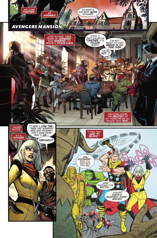 Avengers 676 Preview Page