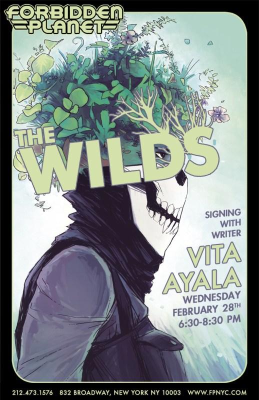 Vita Ayala Wilds signing Forbidden Planet NYC