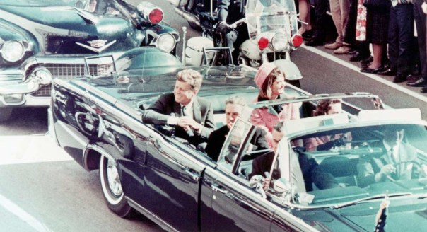 Kennedys in Dallas Motorcade