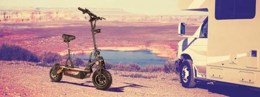EvokingCaravanBanner16 6 - Forca Sports - Elektroscooter,  ElektroRoller, EScooter, EMobilität & mehr