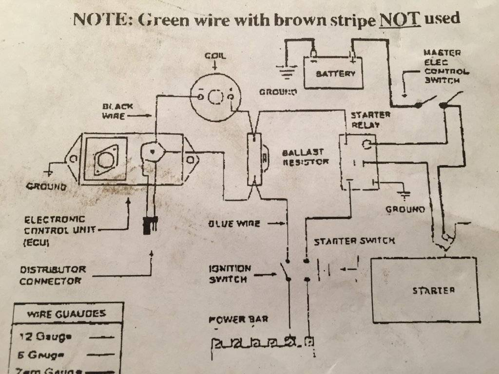 mopar points ignition wiring diagram 2001 ford focus stereo to electronic question for c bodies only