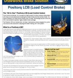 drawworks lcb positorq brake trip stop drill all with one brake  [ 1275 x 1650 Pixel ]