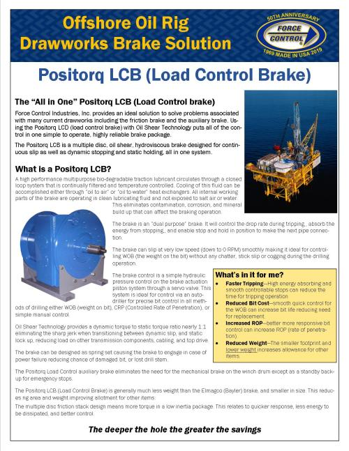 small resolution of drawworks lcb positorq brake trip stop drill all with one brake