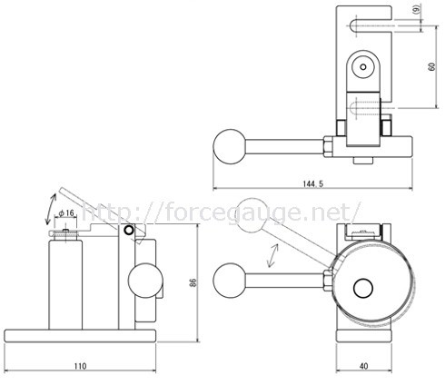 BC-15/PGC-BC Attachment for Tensile Test of Sewed Buttons