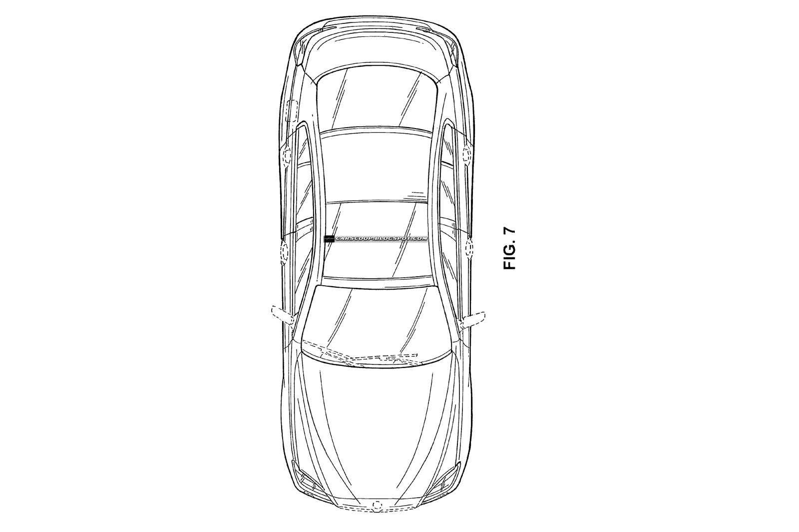 New BMW 4-Door Sports Coupé Official Patent Designs