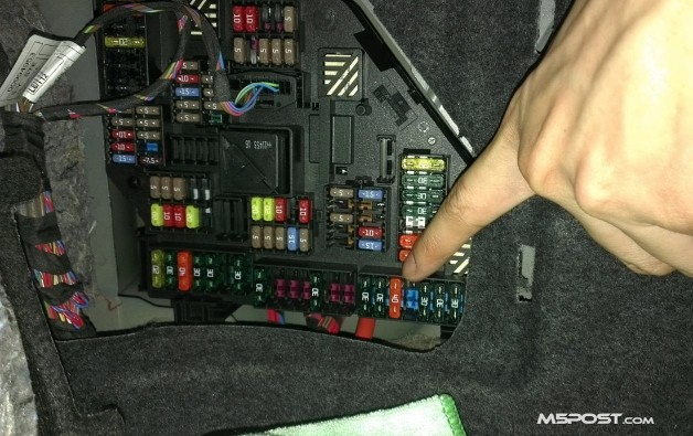Xi Fuse Box Location Difference Between Bmw M5 S Active Sound Enabled And