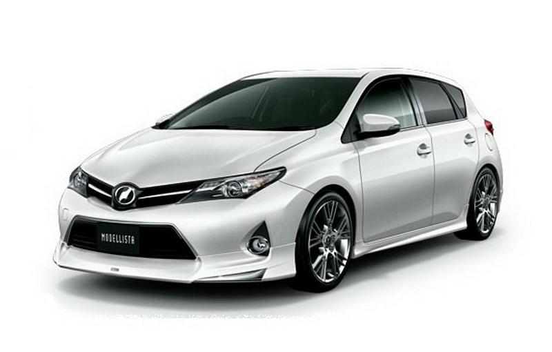 2013 Toyota Corolla Auris Gets TRD Modellista Upgrade