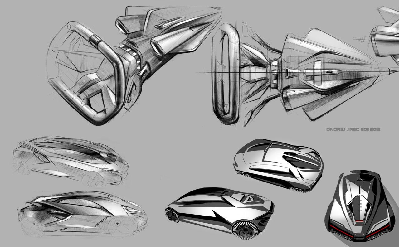 Lamborghini Perdigon Concept To Rival Bugatti Veyron