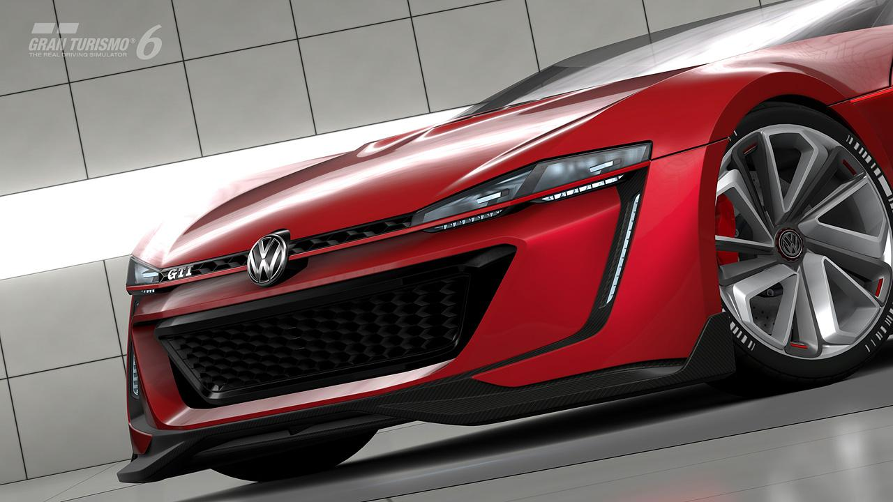 hight resolution of volkswagen golf gti vision gran turismo roadster front 2